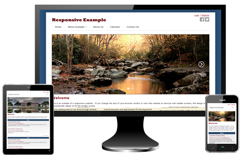 responsive hoa website